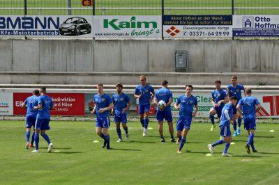 1. Spieltag fsv 63 Luckenwalde - FSV Wacker 90 Nordhausen